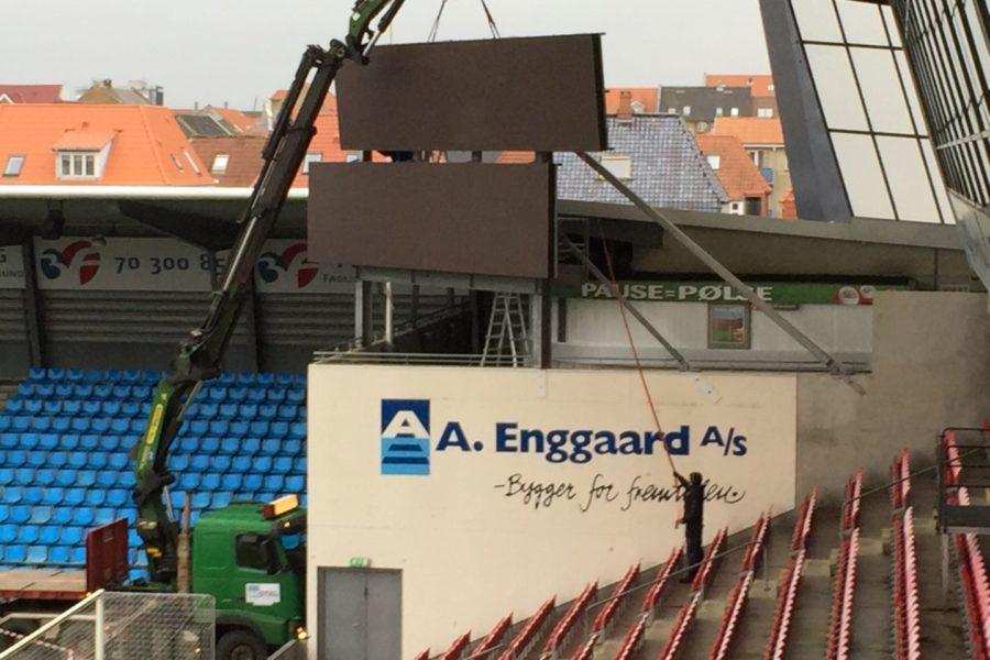 Stadion skærm